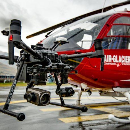 Air-glaciers SA drone service